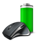 Performance Mouse MX with battery icon