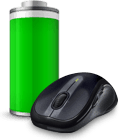 Battery icon with M510 mouse