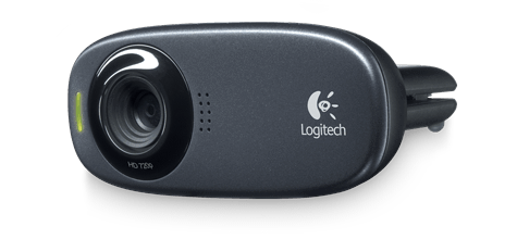 HD Webcam C310 collapsed, front view