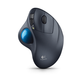 Wireless Trackball M570 top view