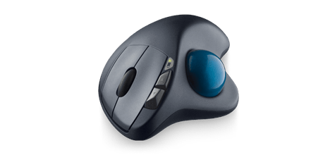 Wireless Trackball M570 front