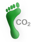 footprint with CO2
