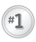 #1 on badge