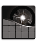 Laser-grade tracking icon