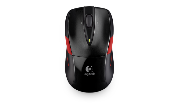Wireless Mouse-M525 Black-Red APJ