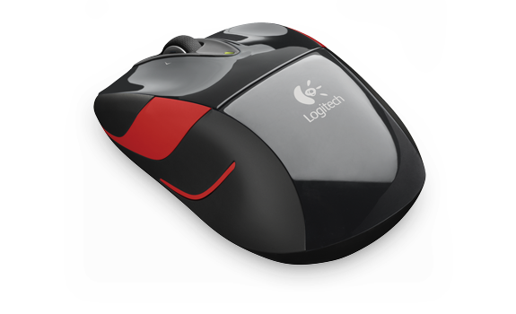 Wireless Mouse M525 Black-Red APJ
