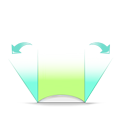 Wide angle field of view