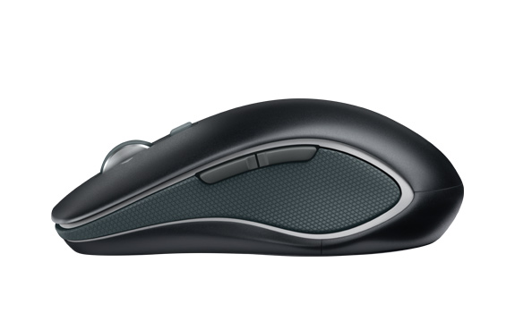 Wireless Mouse M560, left-side view